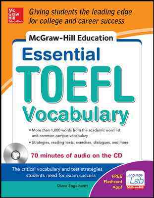Essential Toefl Vocabulary By Engelhardt, Diane